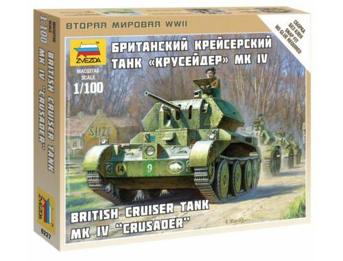 Zvezda British Tank 1:100 (6227)