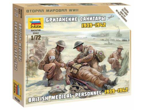 Zvezda British Medic team 1:72 (6228)
