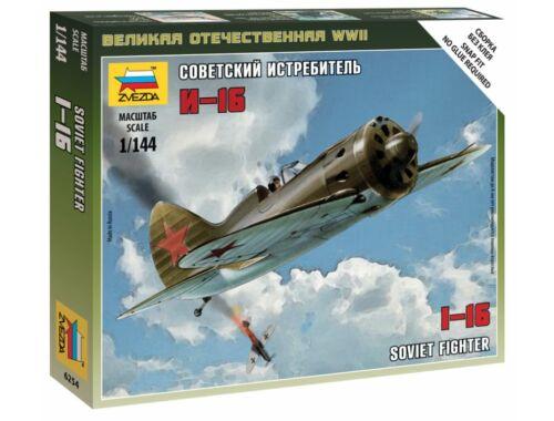 Zvezda I-16 Soviet Fighter 1:144 (6254)