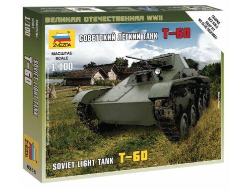 Zvezda T-60 Soviet Light Tank 1:100 (6258)