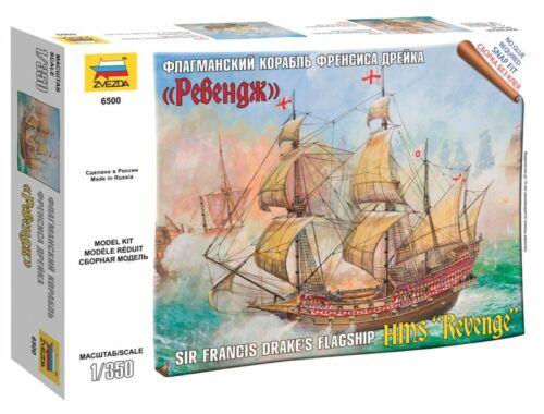 Zvezda English ship Revenge 1:350 (6500)