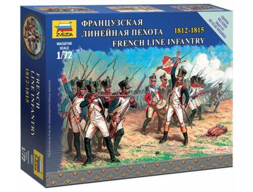 Zvezda French Line Infantry 1:72 (6802)