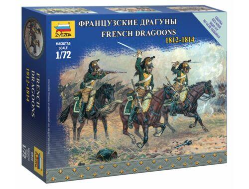 Zvezda French dragoons 1:72 (6812)