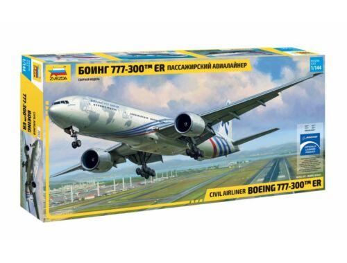 Zvezda Boeing 777-300ER 1:144 (7012)