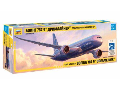Zvezda Boeing 787-9 Dreamliner Long fuselage 1:144 (7021)