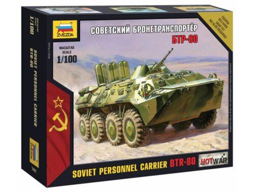 Zvezda BTR-80 Mini kits modern 1:100 (7401)