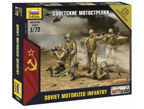 Zvezda Soviet Infantry Mini kits model 1:72 (7404)