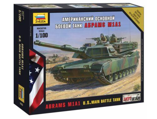 Zvezda Abrams M1 A1 Mini kits Modern 1:100 (7405)