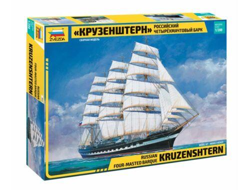 Zvezda Krusenstern Sailingship 1:200 (9045)