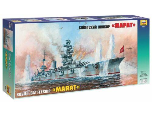 Zvezda Soviet Battleship 'Marat' 1:350 (9052)