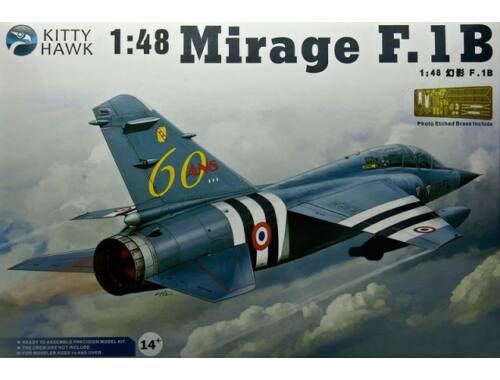 Kitty Hawk Dassault Mirage F.1B 1:48 (80112)