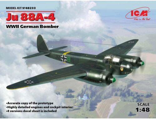 ICM Ju 88A-4, WWII German Bomber 1:48 (48233)