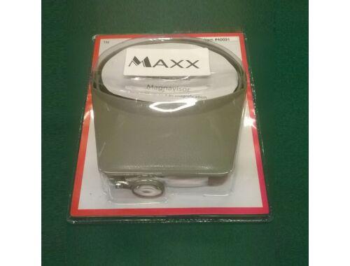 MAX Deluxe Magna-Visor w/Magnifier Grey - nagyítós szemüveg (40031)