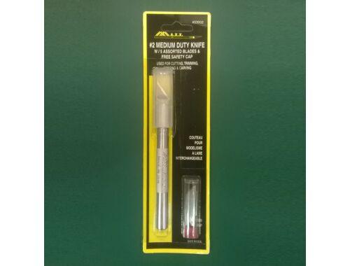 MAX Medium Duty Knife w/5 Blades - makettező kés   pótpenge (53002)