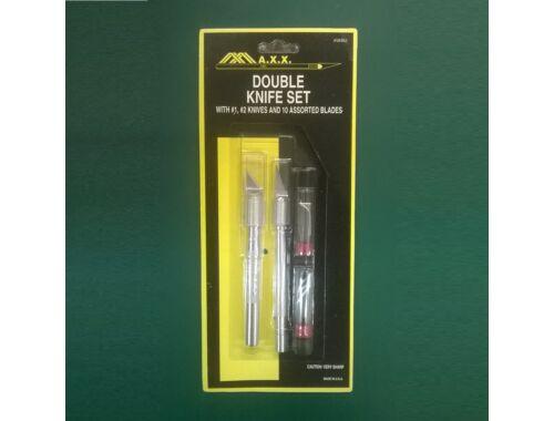 MAX Double Knife Set w/Plastic Pack - kés készlet (58362)
