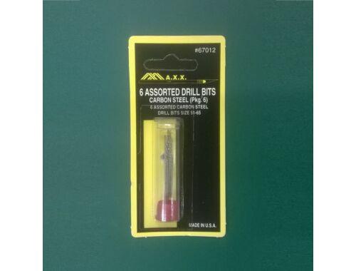 MAX Assorted Drills 52-67 (pkg of 6) - fúrószár készlet (67012)