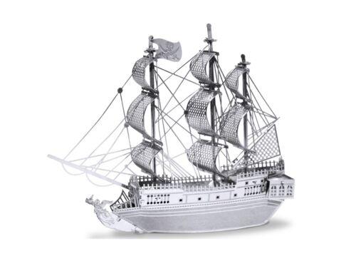Metal Earth Fekete Gyöngy vitorlás hajó