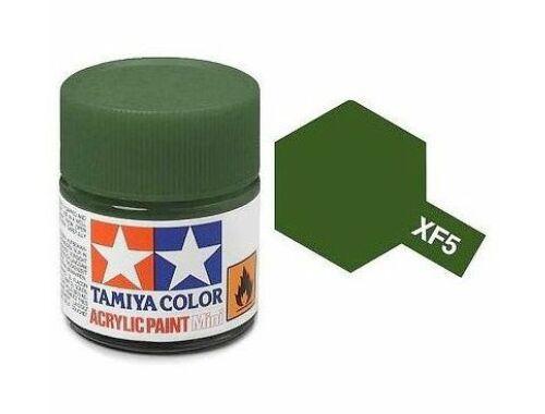 Tamiya AcrMini XF-5 Flat Green (81705)