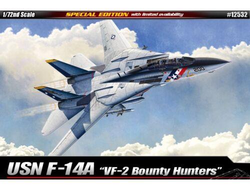 "Academy USN F-14A ""VF-2 Bounty Hunters"" 1:72 (12532)"