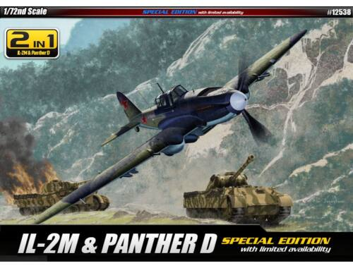 Academy Il-2m   Panther D - Limited Edition 1:72 (12538)