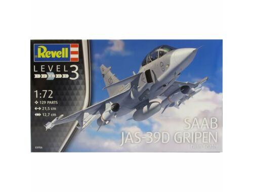 Revell Saab JAS-39D Gripen Twinseater 1:72 (3956)