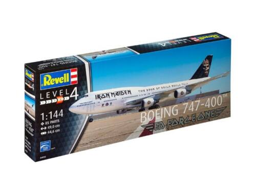 Boeing 747-400 IRON MAIDEN - Ltd. Edition 1:144 (4950)