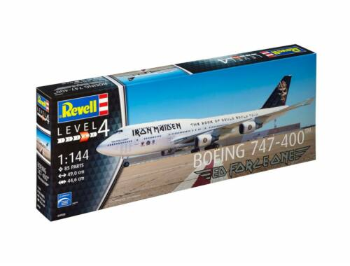 Revell Boeing 747-400 IRON MAIDEN Ltd. Edition 1:144 (4950)