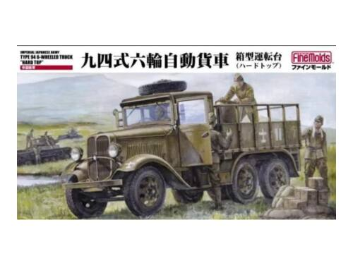 Fine Molds Type 94 6-wheeled Truck hard top 1:35 (FM30)