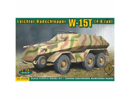 ACE W-15T4:6rad Leichter Radschlepper 1:72 (72538)