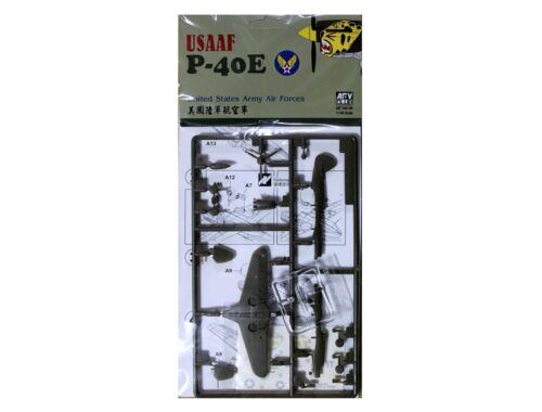 AFV Club USAAF P-40E 1:144 (AR144S04)
