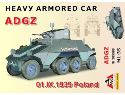 AMG Heavy Armored Car ADGZ(01.IX.1939 Poland 1:35 (AMG35508)
