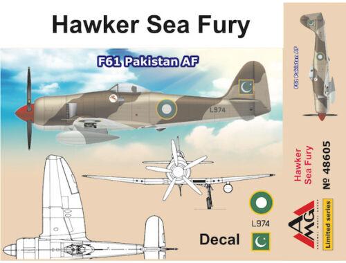 AMG Hawker Sea Fury F61 Pakistan AF 1:48 (AMG48605)