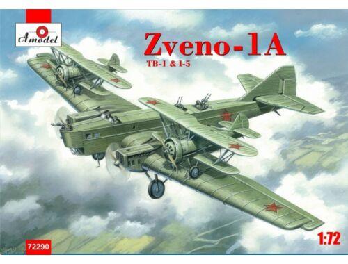 Amodel Zveno-1A TB-1   I-5 1:72 (72290)