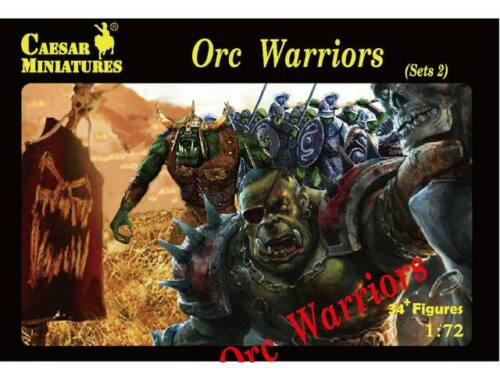 Caesar Orc Warriors Sets2 1:72 (F109)