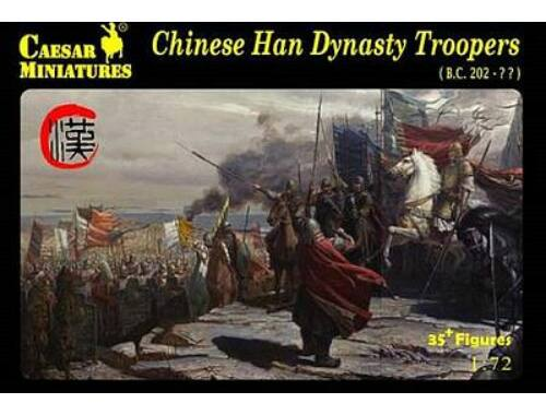 Caesar Chinese Han Dynasty Troopers 1:72 (H043)