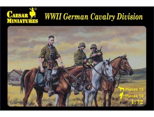 Caesar WWII German Cavalry Division 1:72 (H092)