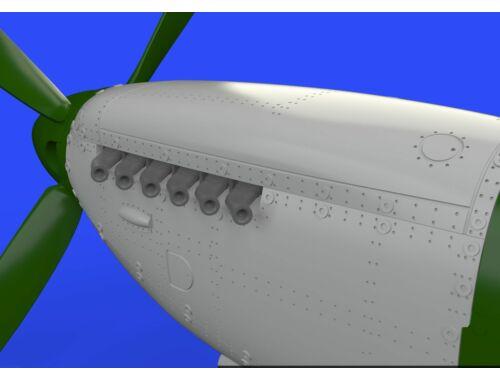 Eduard Spitfire Mk.IX engine for EDUARD 1:72 (672126)