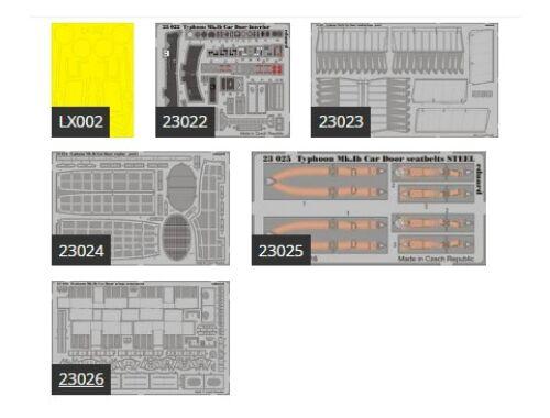 Eduard TYPHOON Mk.Ib CAR DOOR for AIRFIX 1:24 (BIG2402)