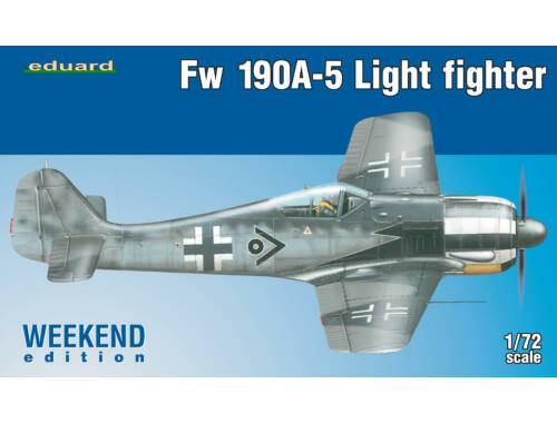 Eduard Fw 190A-5 (2 cannons) WEEKEND edition 1:72 (7439)