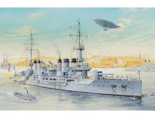 Hobby Boss French Navy Pre-Dreadnought Battleship Voltaire 1:350 (86504)