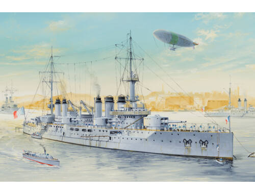 Hobby Boss French Navy Pre-Dreadnought Battleship Voltaire 1:350 (86504)