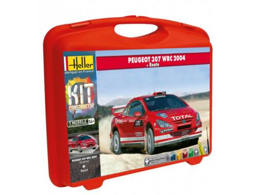 Heller Model Kit Peugeot 307 WRC 2004 (piste) 1:43 (60115)