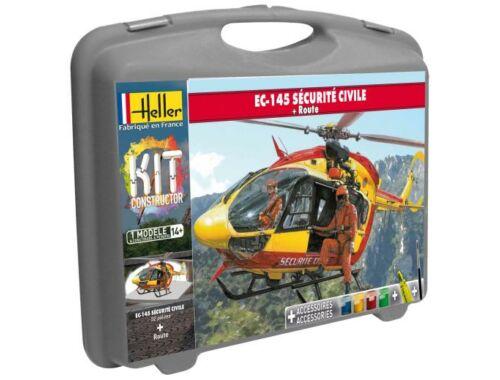 Heller Model Kit Eurocopter EC 145 Securite Civile (piste) 1:72 (60375)
