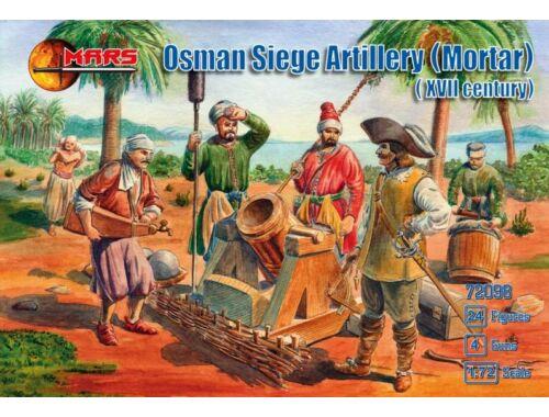 Mars Osman siege artillery (Mortar,XVII centu 1:72 (72098)