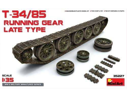 Miniart T-34/85 Running Gear.Late Type   track 1:35 (35227)