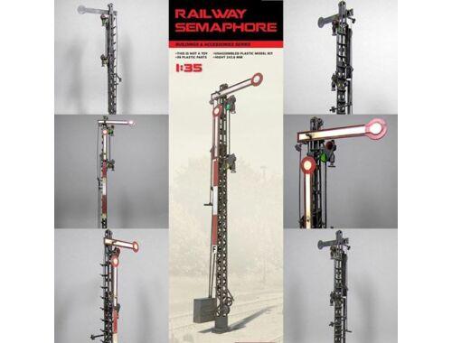 Miniart Railway Semaphore 1:35 (35566)