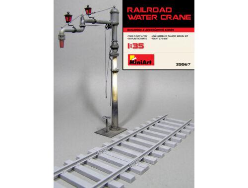 Miniart Railroad Water Crane 1:35 (35567)