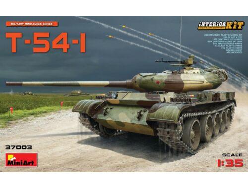 Miniart T-54-1 Soviet Medium Tank Interior Kit 1:35 (37003)
