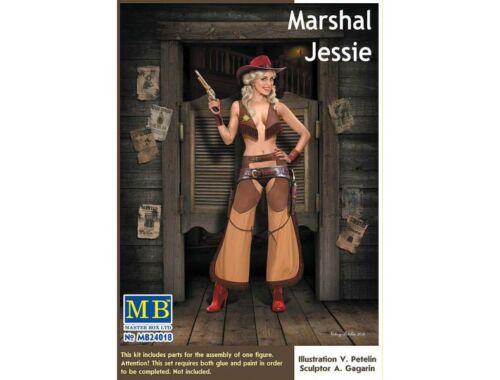 Master Box Marshal Jessie 1:24 (24018)