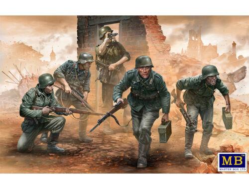 Master Box German infantry,WWII era. Early period 1:35 (35177)